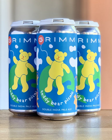 Grimm Artisanal Ales Teddy Bear Picnic DIPA - 4 Pack, 16oz Cans - #neighbors_wine_shop#