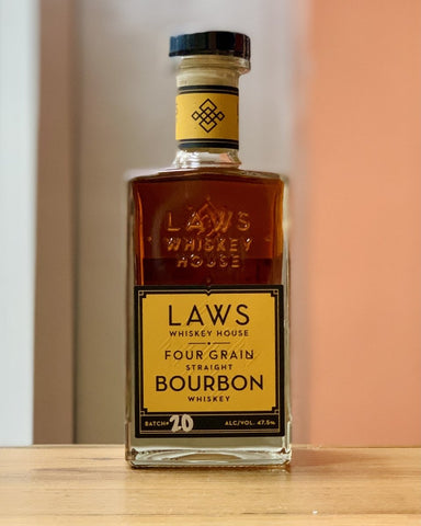 Laws Whiskey House - Four Grain Straight Bourbon Whiskey - #neighbors_wine_shop#
