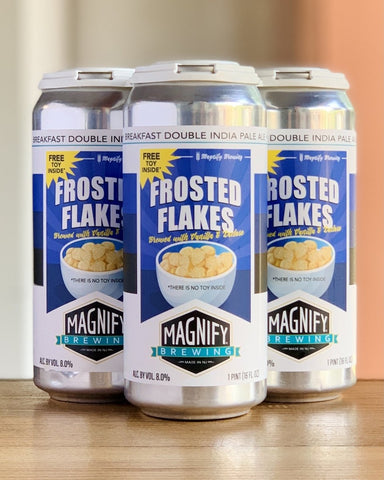 Magnify Brewing Frosted Flakes Breakfast DIPA - 4 Pack, 16oz Cans - #neighbors_wine_shop#