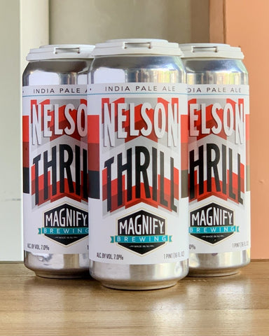 Magnify Brewing Nelson Thrill IPA - 4 Pack, 16oz Cans - #neighbors_wine_shop#