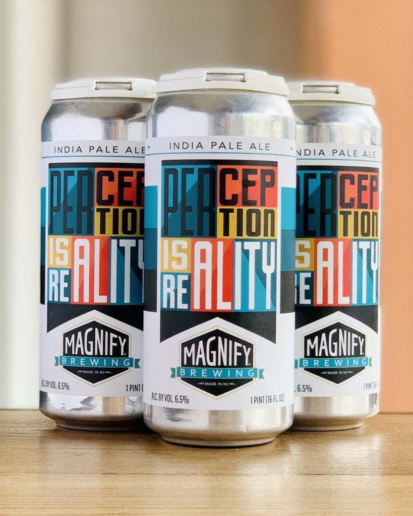 Magnify Brewing Perception Is Reality IPA - 4 Pack, 16oz Cans - #neighbors_wine_shop#