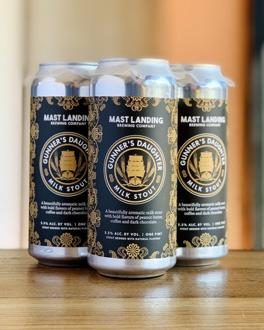 Mast Landing Gunner's Daughter Stout- 4 Pack, 16 oz Cans - #neighbors_wine_shop#