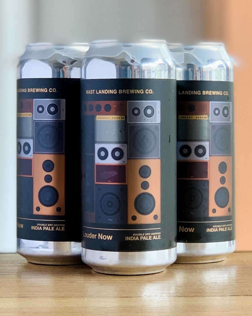 Mast Landing Louder Now DDH IPA - 4 Pack, 16oz Cans - #neighbors_wine_shop#