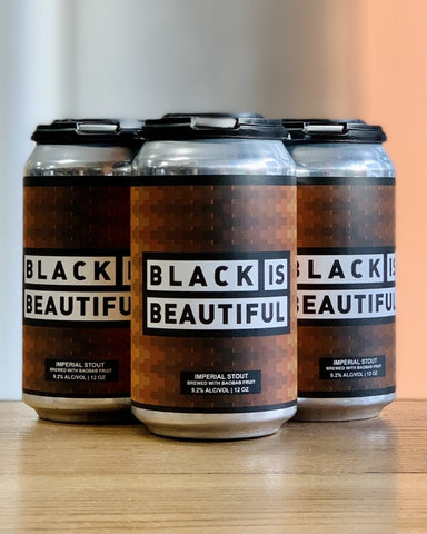 Montclair Brewery Black is Beautiful Imperial Stout - 4 Pack, 12oz Cans - #neighbors_wine_shop#