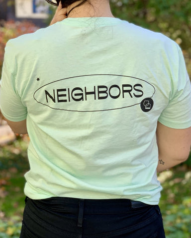 Neighbors Shopping List Unisex T-Shirt - Mint - #neighbors_wine_shop#
