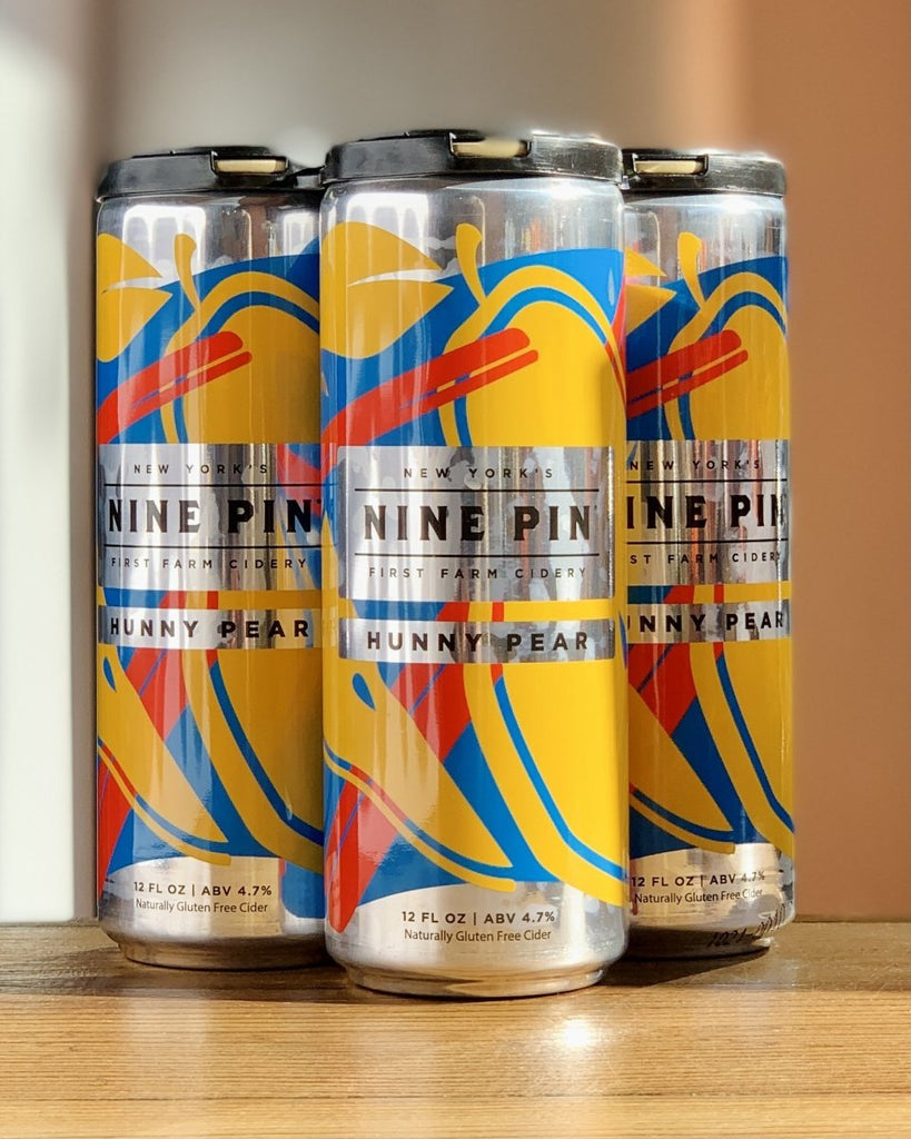 Nine Pin Ciderworks Hunny Pear Cider - 4 Pack, 12oz Cans - #neighbors_wine_shop#