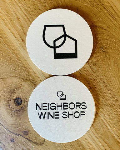 NWS Coasters - #neighbors_wine_shop#