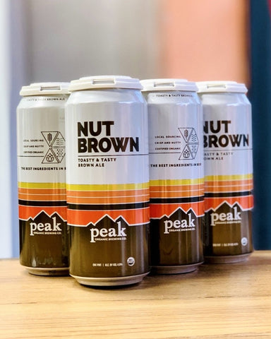 Peak Nut Brown Ale - 6 Pack, 16oz Cans - #neighbors_wine_shop#