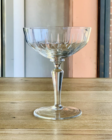 Pierre Gimonnet & Fils Champagne + 4 Vintage Crystal Coupes - #neighbors_wine_shop#
