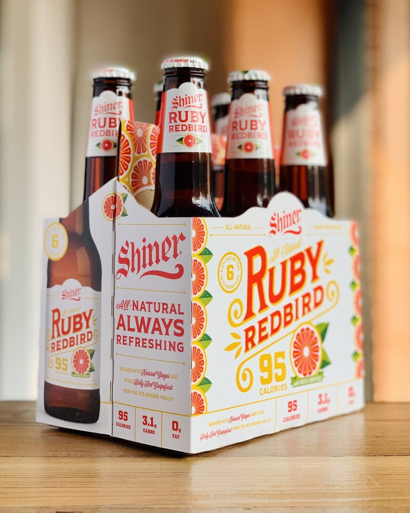 Shiner Ruby Redbird Grapefruit - 6 Pack, 12 oz Bottles - #neighbors_wine_shop#