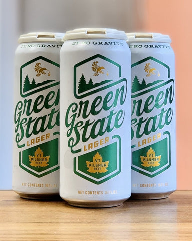 Zero Gravity Green State Lager - 4 Pack, 16oz Cans - #neighbors_wine_shop#