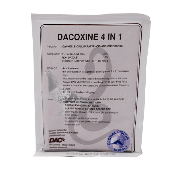 Dac Dacoxine 4 in 1 Powder - Global 100g