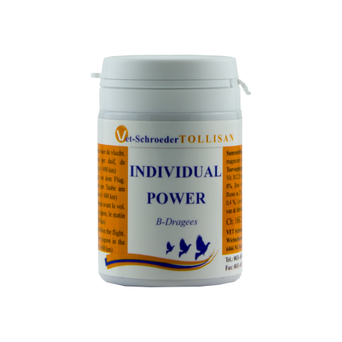 Individual Power (B-Dragees) Vet-Schroeder Tollisan 50 Tablets