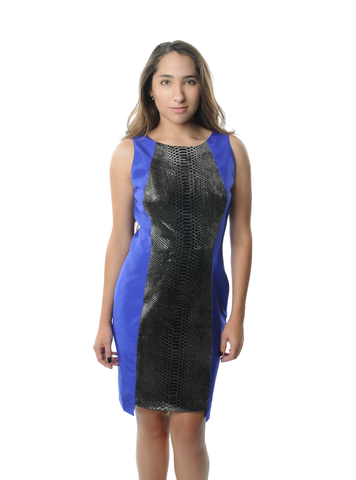 Snake Sleeveless Dress