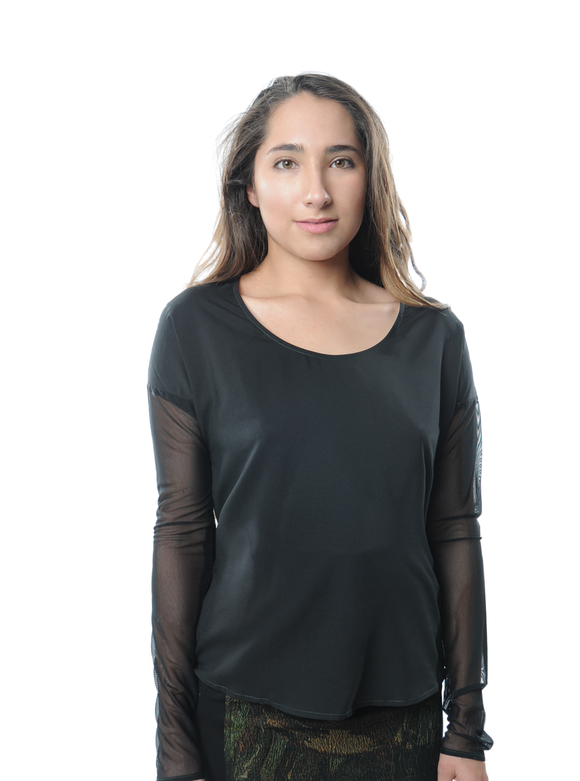 Djeeg'n Sihem Silk Top