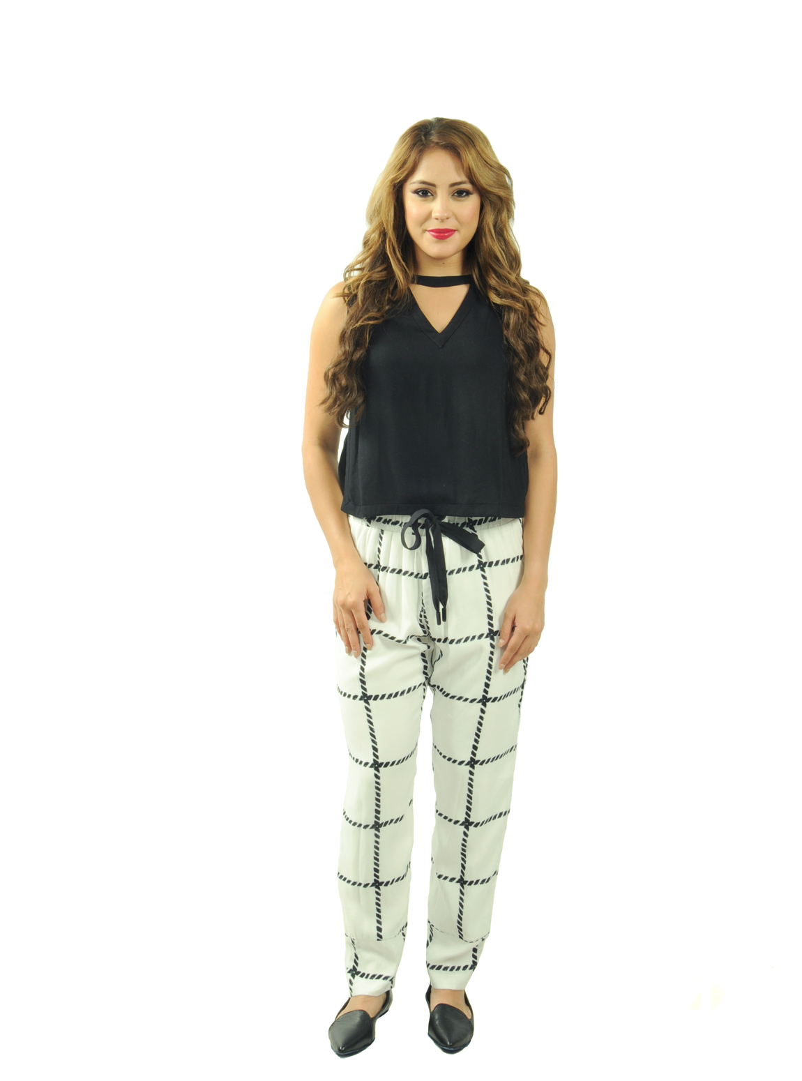 Women's Net Print Pants