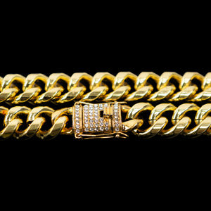 PE3570 18K Gold Chain 10.0mm×60cm