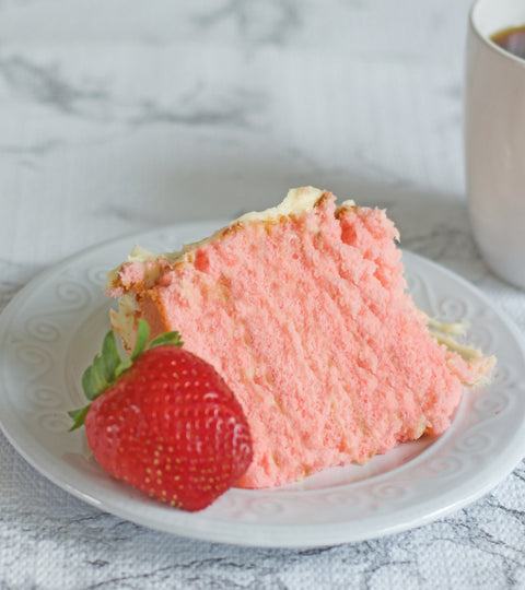 Strawberry Supreme Cake with Cream Cheese Frosting