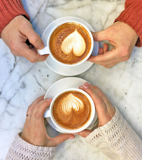 6 Coffees for 6 Valentine's Couples