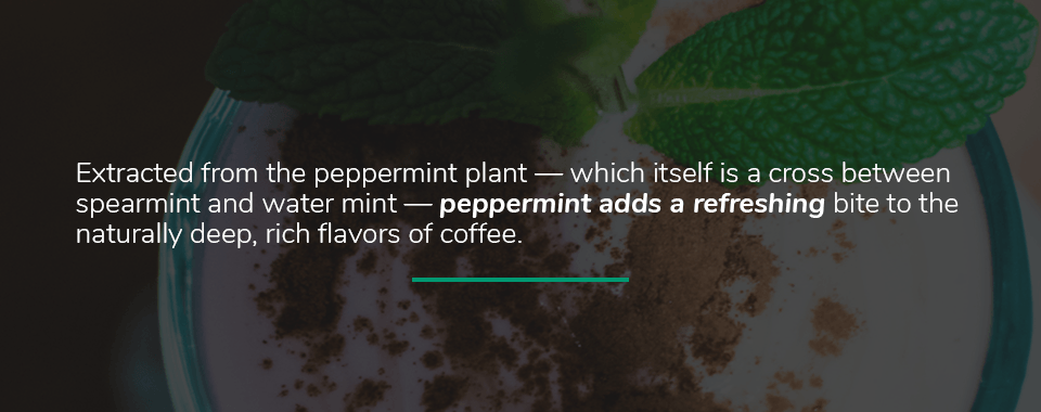 Peppermint Oil and Coffee