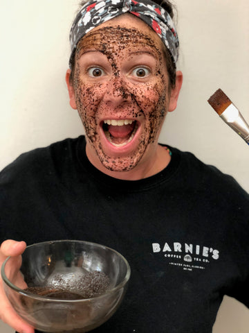 Barnie's Coffee Facial Application