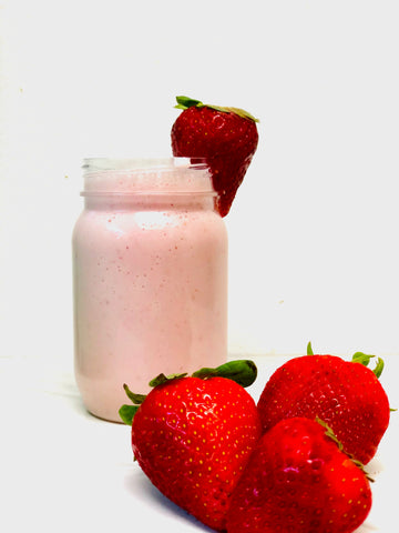 Pour the smoothie into a serving glass or two and enjoy!