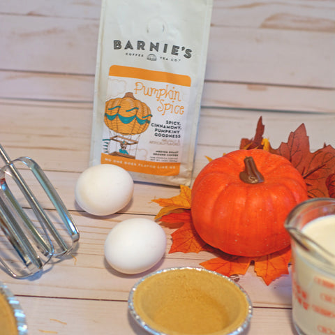 Barnie's Pumpkin Spice Pie Recipe