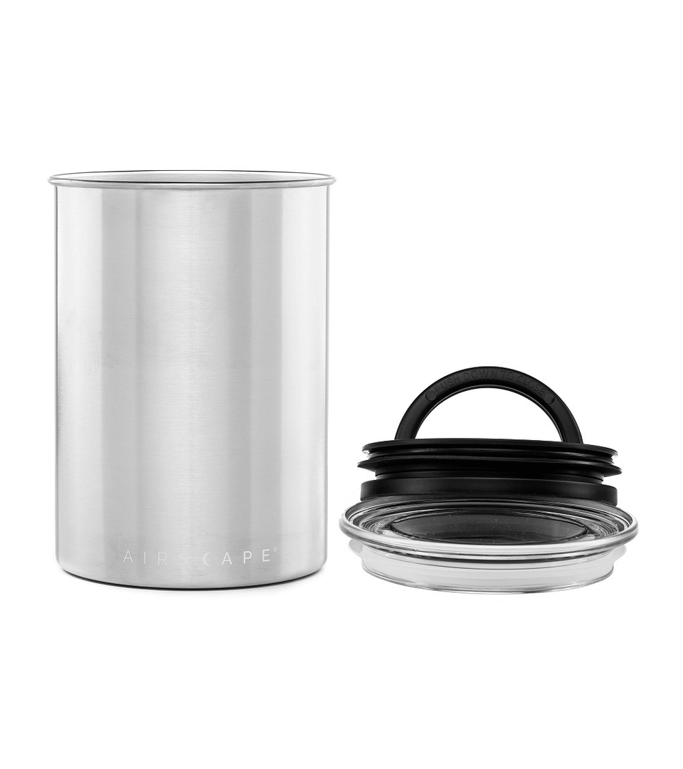 Airscape® Coffee Canister Steel