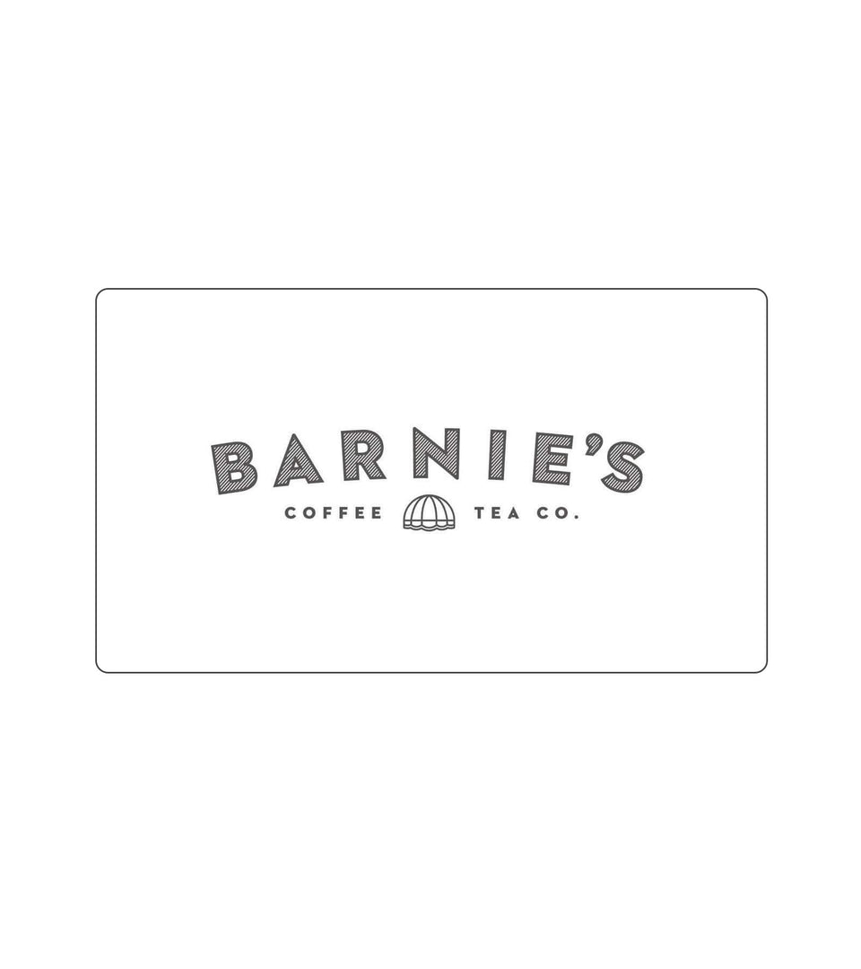 Barnie's Coffee E-Gift Card