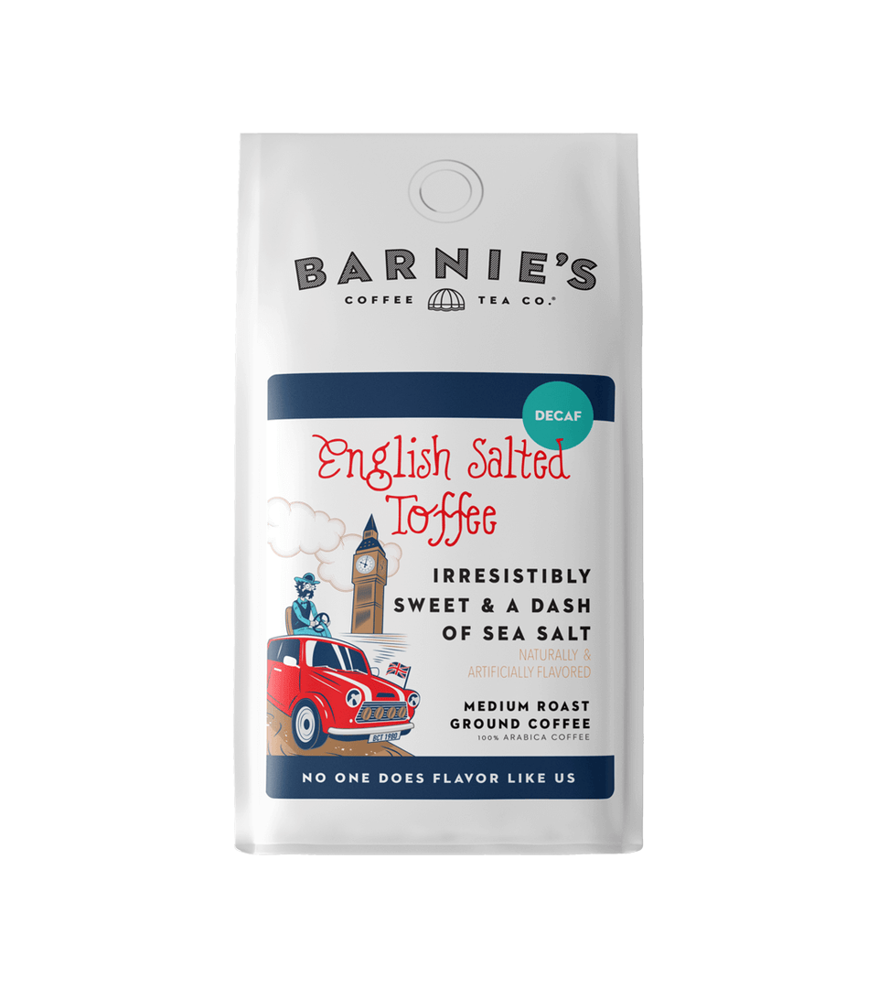 English Salted Toffee Decaf Bagged Coffee