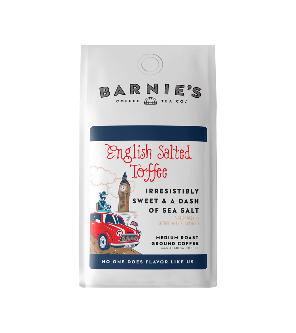English Salted Toffee Bagged Coffee