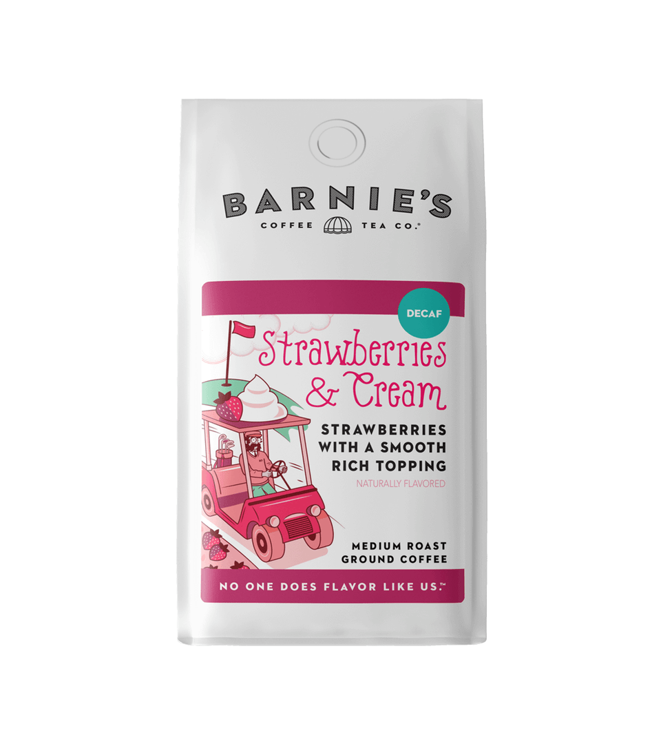 Strawberries & Cream Decaf Bagged Coffee