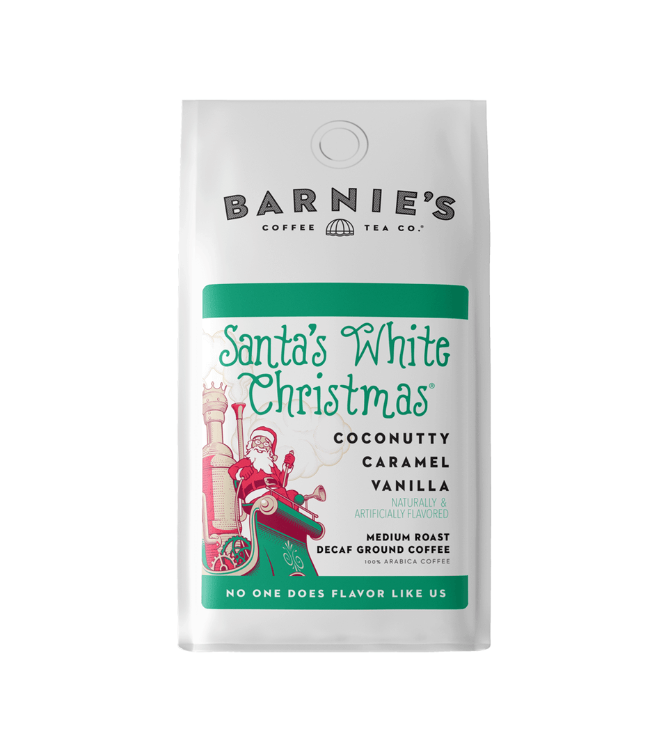 Santa's White Christmas DECAF Ground - Create Your Own