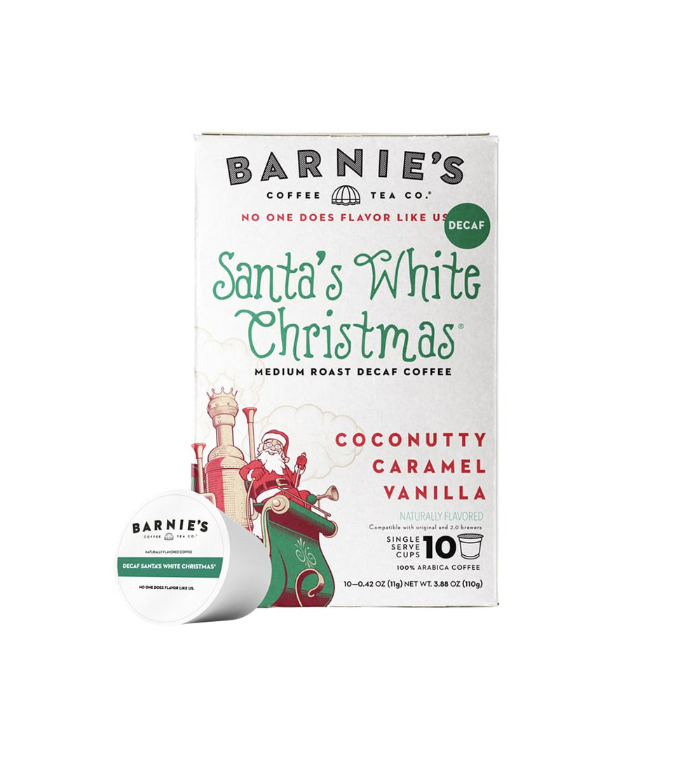 Santa's White Christmas® Single Serve Cups, DECAF, 10ct.