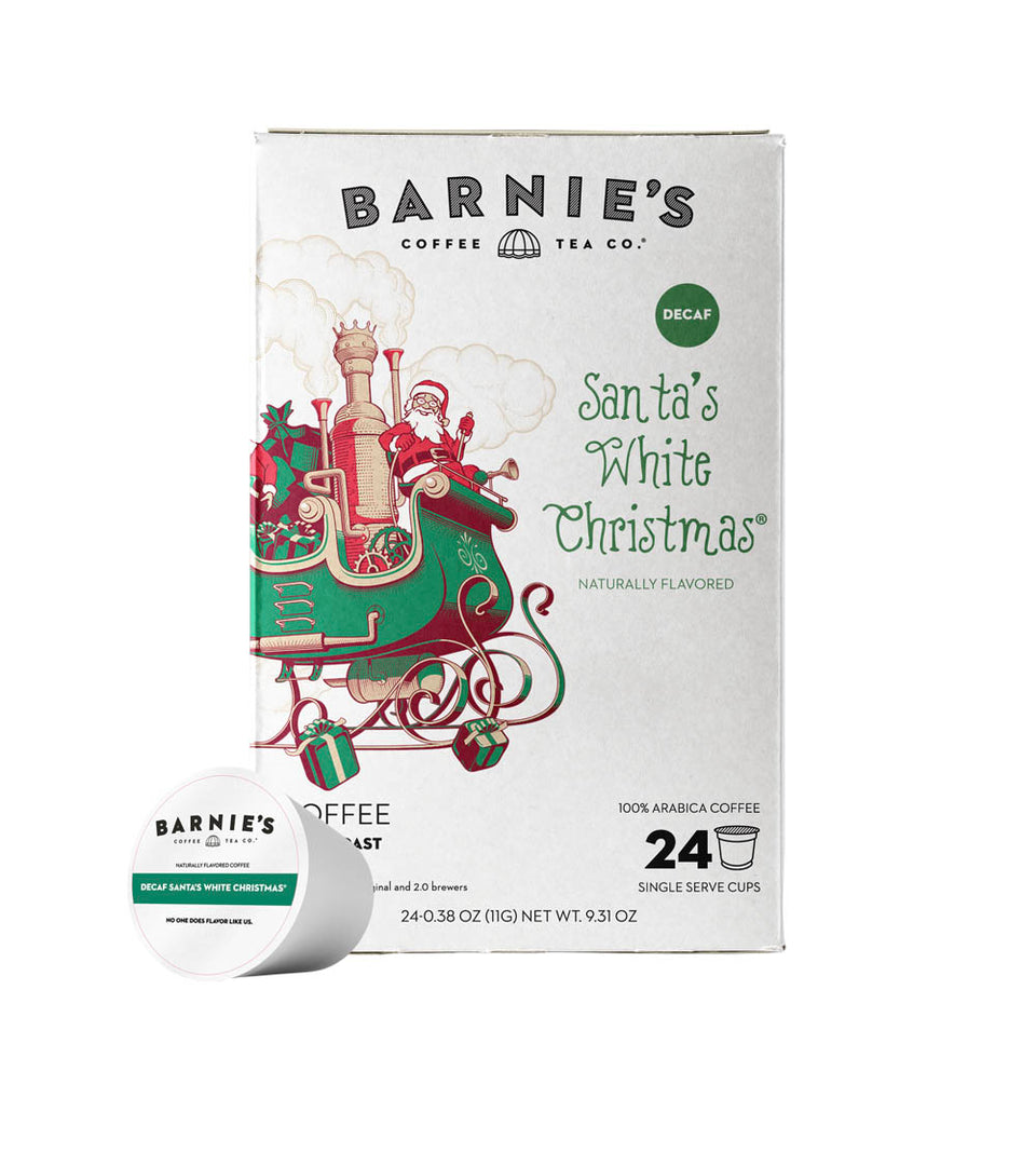 Santa's White Christmas® Single Serve Cups, DECAF, 24ct.