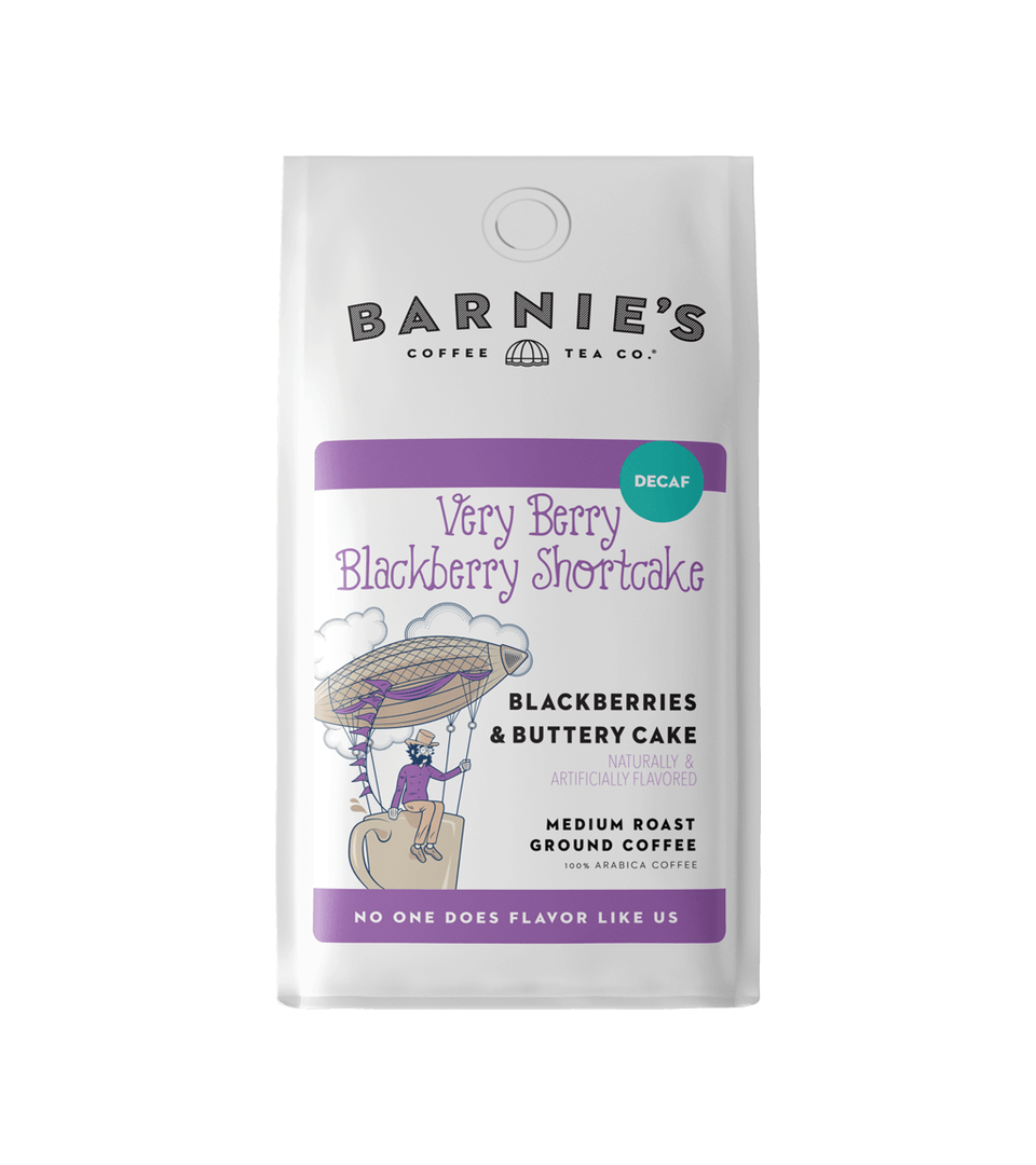 Very Berry Blackberry Shortcake Decaf Bagged Coffee