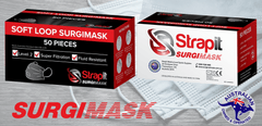 Level 2 Surgical Mask - Level 2 Protection - Strapit Sports Medical
