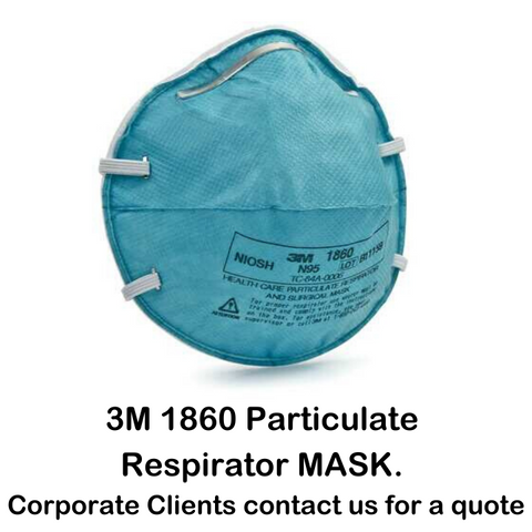 3M 1860 - N95 NIOSH Mask