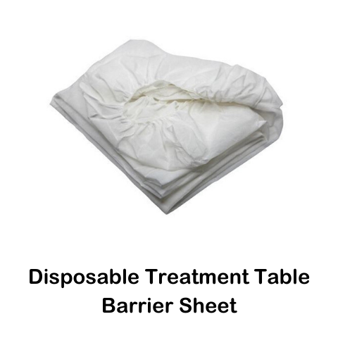 DISPOSABLE FITTED BED/PLINTH SHEET