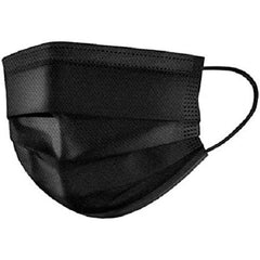 BLACK - Level 2 (AS) Surgical Mask - AUSTRALIAN STANDARD