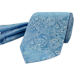 103 Mens Pale Blue Tie Set