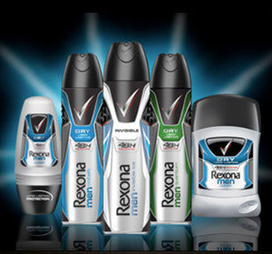 <center>Rexona Body Spray 男用制汗劑