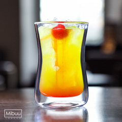 MIBUU Mighty - Double Wall Glasses<BR/>手工雙層玻璃杯禮盒 250ml (大) - Shark Tank Taiwan
