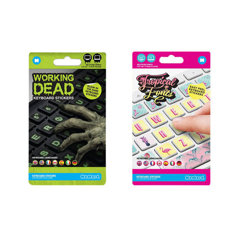 MUSTARD Keyboard Stickers<br/>夜光鍵盤貼紙 (共2款)