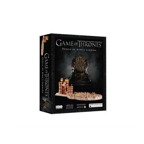 4D CITYSCAPE 4D Game of Thrones Model Puzzle - King's Landing<br/>4D 模型拼圖 冰與火之歌 - 君臨城