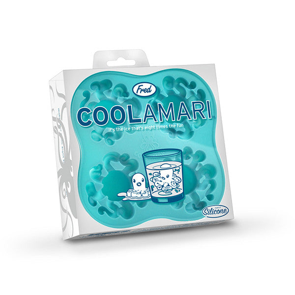 FRED & FRIENDS Coolamari Ice Tray <BR/>章魚造型製冰盒 - Shark Tank Taiwan