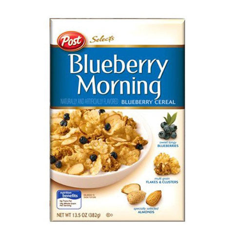 POST Blueberry Morning Cereal<br/>藍莓脆麥果片 (2入/5入組)