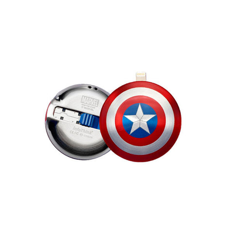 CAPTAIN AMERICA Civil War<br/>美國隊長 IPHONE 雙頭隨身碟 (16GB/32GB/64GB) - Shark Tank Taiwan