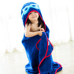 FRENCHIE MINI COUTURE Superhero Children Towel<br/>超級英雄披風式兒童浴巾 - Shark Tank Taiwan