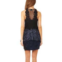 3.1 PHILLIP LIM Sleeveless Floral Lace Tank<BR/>削肩雕花背心 (共2色)